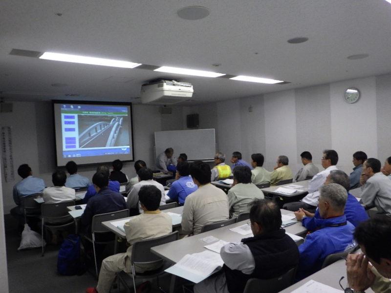 第1回 橋梁点検手法講習会を開催しました